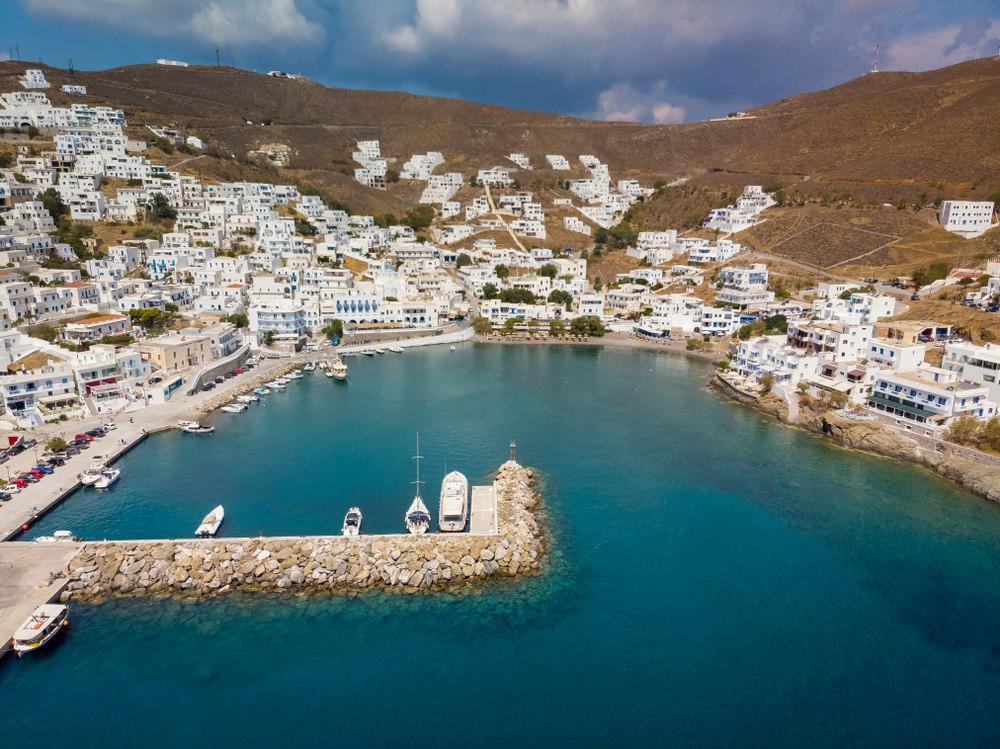 isola di astypalea grecia